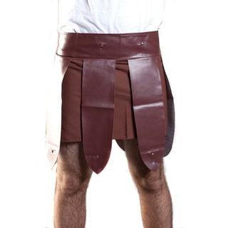 Roman Gladiator Men's Trojan Warrior Skirt Costume