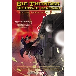 Big Thunder Mountain Railroad (Hardcover)