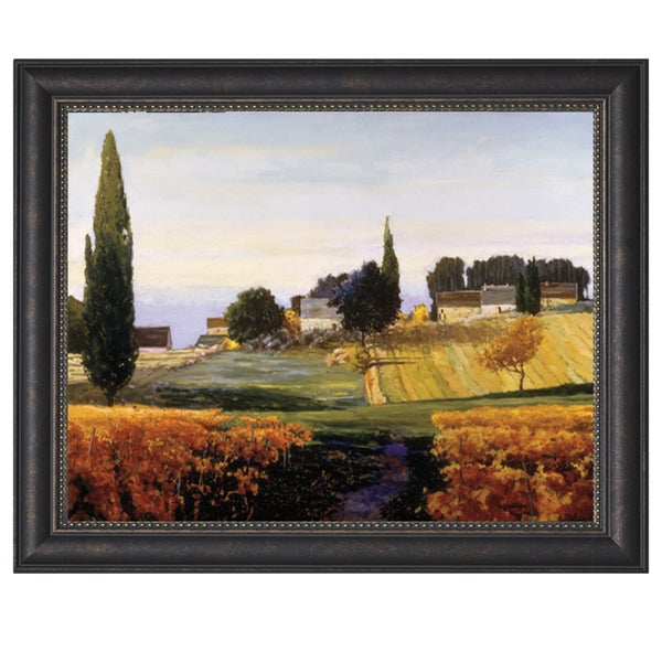 Shop Kent Lovelace Bonnieux 48 X 36 Framed Art Print