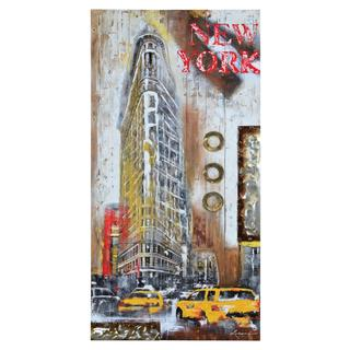 Renwil 'City Slicker III' Gallery Wrapped Wall Decor
