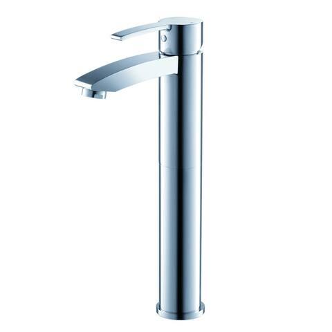 Fresca Livenza Single Hole Vessel Mount Bathroom Vanity Faucet - Chrome