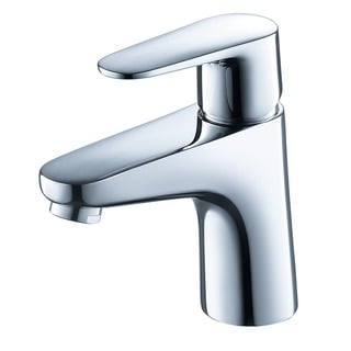 Fresca Diveria Single Hole Mount Bathroom Vanity Faucet - Chrome
