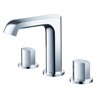 Fresca Tusciano Widespread Mount Bathroom Vanity Faucet - Chrome