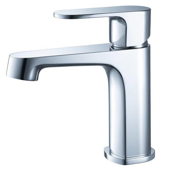 Shop Fresca Gravina Single Hole Mount Bathroom Vanity Faucet