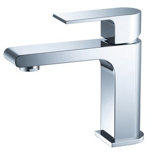 Fresca Allaro Single Hole Mount Bathroom Vanity Faucet Chrome