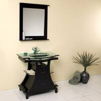 Fresca Cortese Espresso Modern Bathroom Vanity w/ Mirror