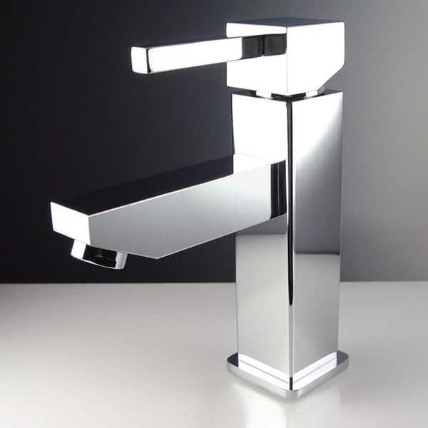 . Shop Fresca Coda 14 inch White Modern Corner Bathroom Vanity   Free