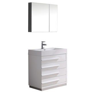 30 Inch Bathroom Vanity Cabinet White wyndham collection centra 30-inch single bathroom vanity in white
