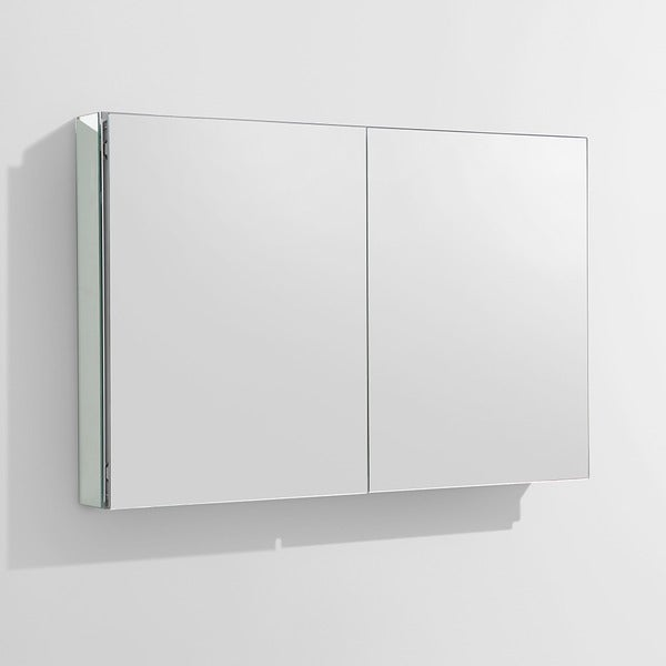 Exceptionnel Fresca 40 Inch Wide Bathroom Medicine Cabinet With Mirrors