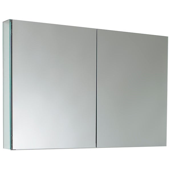 Fresca 40 Inch Wide Bathroom Medicine Cabinet With Mirrors 17132161 Shopping