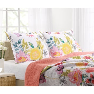 Greenland Home Fashions Watercolor Dream Pillow Sham Set