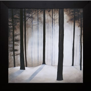 Patrick St.Germain-Winter Solace 40 x 40 Framed Art Print