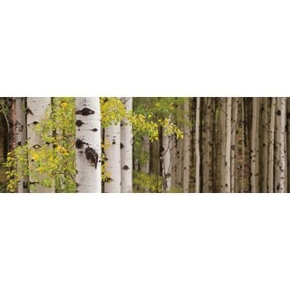 Heather Ross White Forest Standing Gallery Wrap Canvas