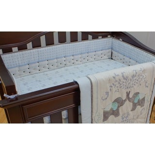 Nurture Imagination Elephant Jubilee Airflow Crib Bumper