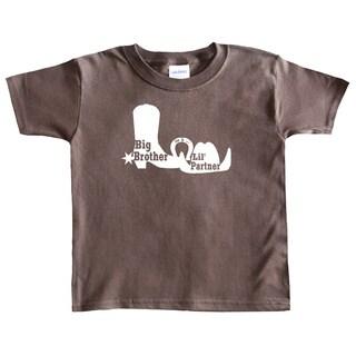 Rocket Bug Country Boy Big Brother T-shirt