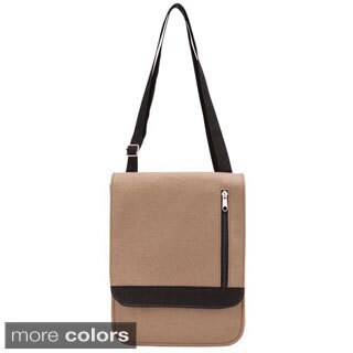 Goodhope Eco Felt Beige Tablet Bag