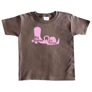Rocket Bug Country Girl Big Sister T-shirt