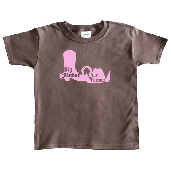 Rocket Bug Country Girl Big Sister T-shirt