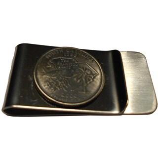Handmade South Carolina State Quarter Coin Money Clip