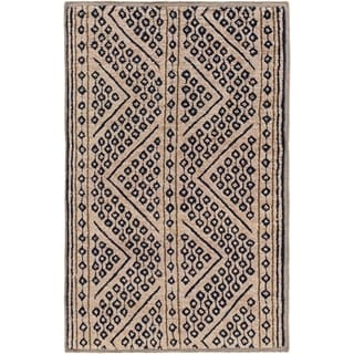 Hand-Knotted Tony Nature Indoor Rug (5' x 8')