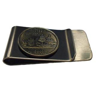 Handmade Virginia State Quarter Coin Money Clip
