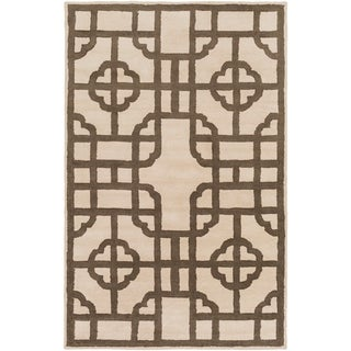 Hand-Tufted Julissa Geometric Wool Rug (3'3 x 5'3)