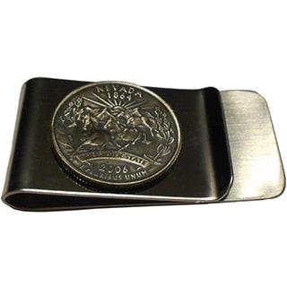Handmade Nevada State Quarter Coin Money Clip