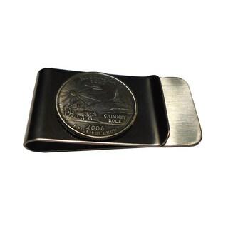 Handmade Nebraska State Quarter Coin Money Clip