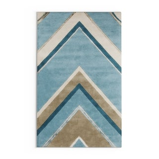 Hand-Tufted Wright Floral Indoor Area Rug