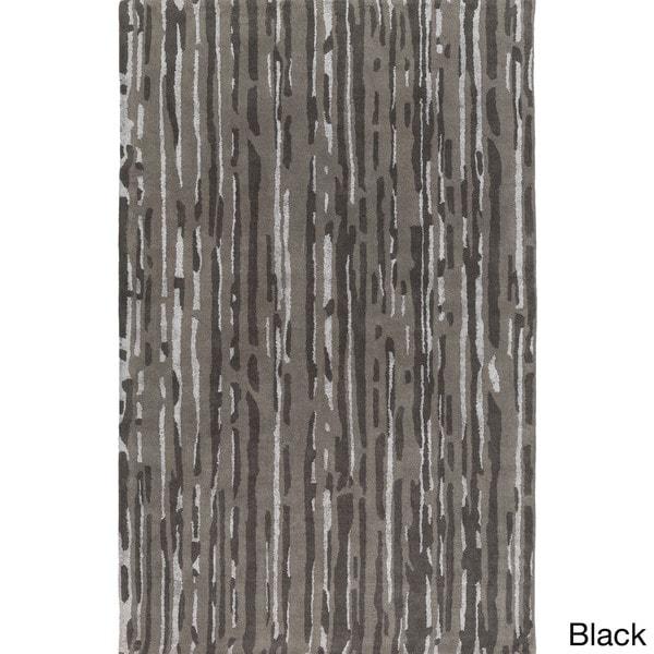 Hand-Tufted Walter Abstract Indoor Area Rug - 2' x 3'