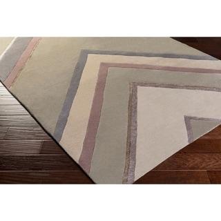 Hand-Tufted Wright Geometric Indoor Rug (9' x 13')