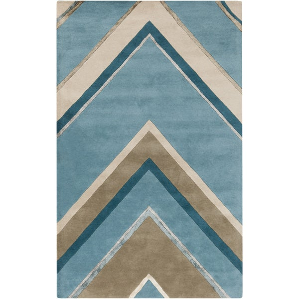 Hand-Tufted Wright Classic Indoor Rug (8' x 11')