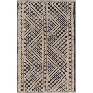 Hand-Knotted Tony Nature Indoor Area Rug (2' x 3')