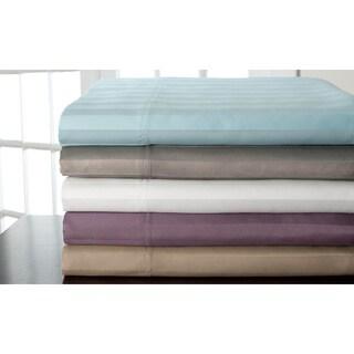 Amberley Woven 800 Thread Count Stripe Cotton Rich 6-piece Sheet Set