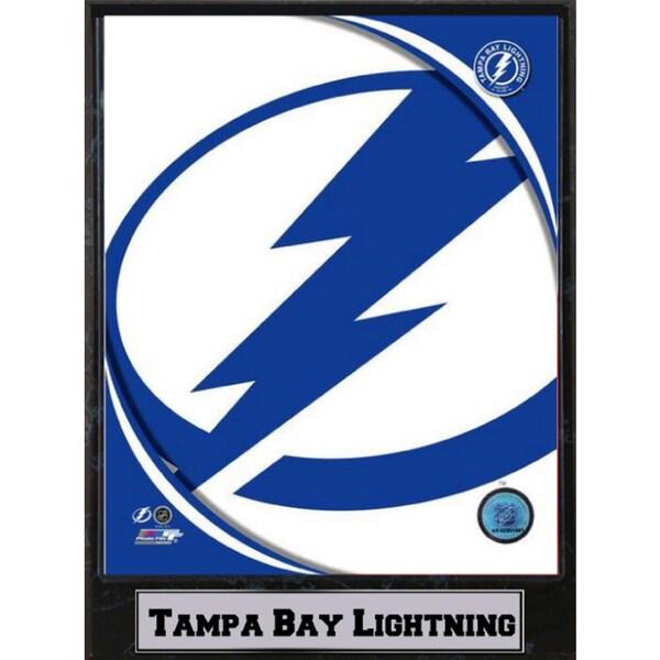 Tampa Bay Lightning Logo Plaque (9x12)