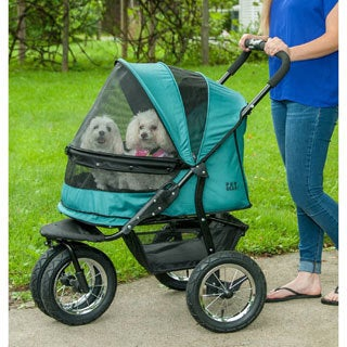 Pet Gear No-Zip Double Wide Pet Stroller