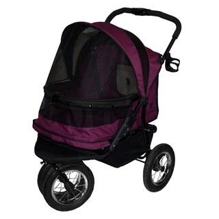 Pet Gear No-Zip Double Wide Pet Stroller (2 options available)