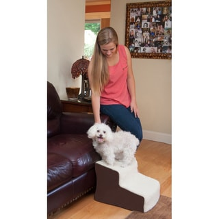 Pet Gear Easy Step II Deluxe Soft Pet Stairs