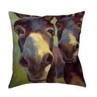 Kiss Me Decorative Pillow