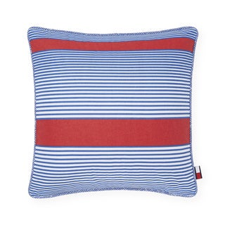 Tommy Hilfiger Arrowhead Red/Blue 20-inch Throw Pillow
