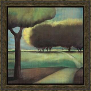 Tandi Venter-Looking Back l 22 x 22 Framed Art Print