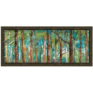 Caroline Gold-Woodland 40 x 22 Framed Art Print
