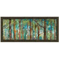 Caroline Gold-Woodland 40 x 22 Framed Art Print