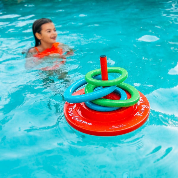 SuperSoft Ring Toss Floating Pool Game