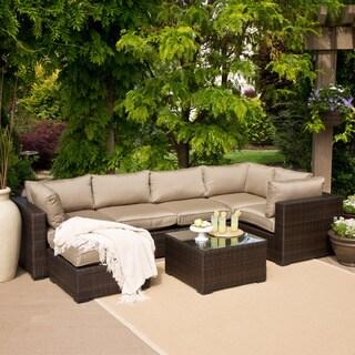 San Jose 7 Piece Outdoor Sectional Set