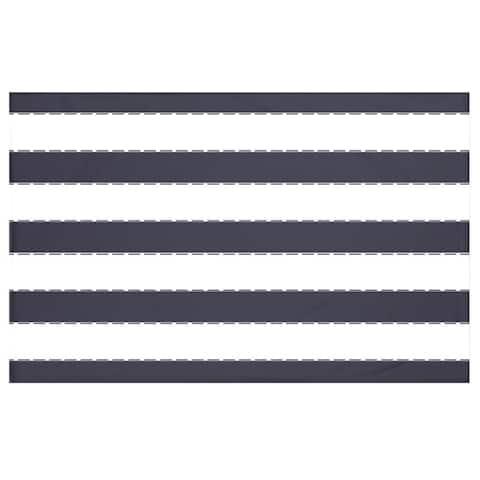 50 x 60-inch Stripes Print Throw Blankets