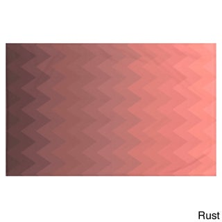 Stripes Print Teal/ Blue/ Aqua/ Green/ Dark Grey/ Rust/ Purple 50 x 60-inch Throw Blanket (More options available)