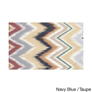 Stripes Print Navy Blue and Taupe/ Teal and Brown/ Green and Red/ Green 50 x 60-inch Throw Blanket (4 options available)