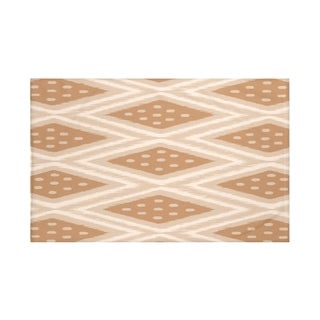 Geometric Print Blue and Navy Blue/ Green/ Grey and Dark Grey/ Taupe and Brown 50 x 60-inch Throw Blanket
