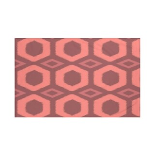 Geometric Print Royal Blue and Blue/ Green/ Rust and Coral/ Purple/ Taupe 50 x 60-inch Throw Blanket (5 options available)